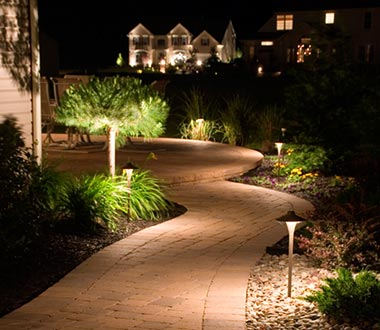 Outdoor Landscape Lighting. Lighting. Lighting