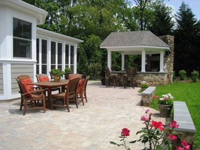 Paver Patios in the City of Falls Church, Virginia