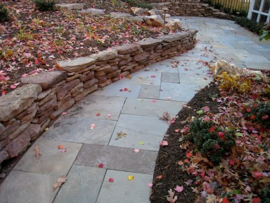 Stone Walkways in Northern Virginia