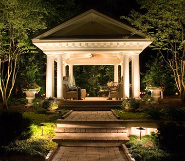 Patio Lighting in Northern Virginia