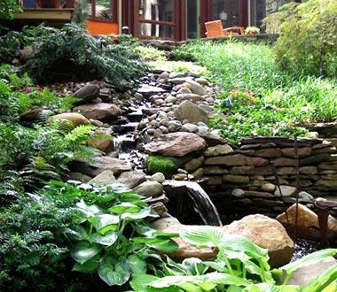 Landscape Design Company Northern VA Backyard Landscape
