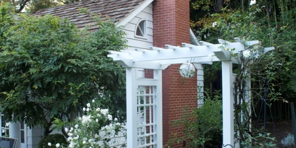 Trellis and plants in McLean.