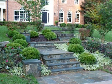 Landscaping in Great Falls, Virginia