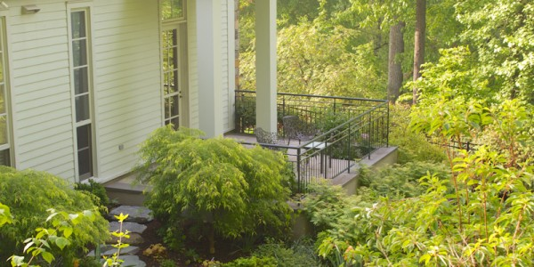 Landscape design in McLean Virginia