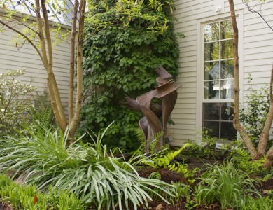 Landscape design and art work in McLean Virginia