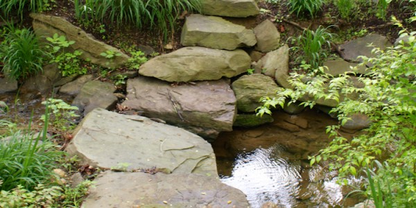 Stone path over in McLean Virginia