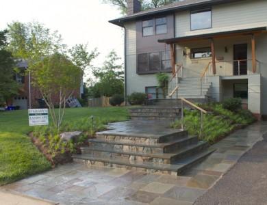 North Arlington Landscape & Flagstone Walkway