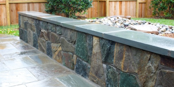 Flagstone Seating Wall, McLean VA