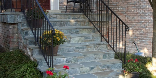 Flagstone and Building Stone Steps, McLean VA