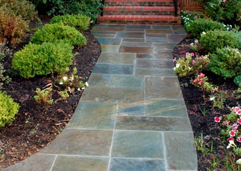 mclean flagstone walkway
