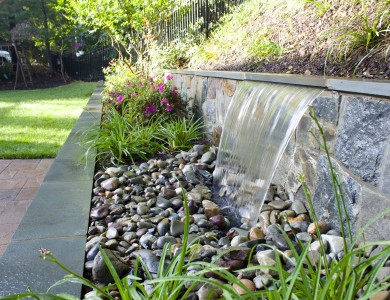 Backyard Landscape Design in North Arlington, Virginia