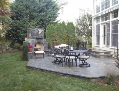 Outdoor Patio Design in McLean, Virginia