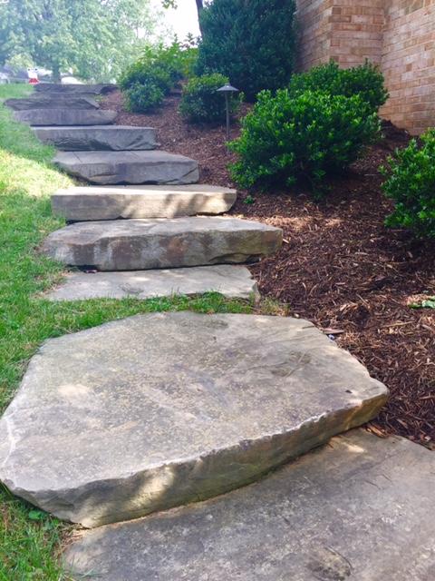 Landscaping gallery photos of patios walkways in for Landscaping rocks northern virginia