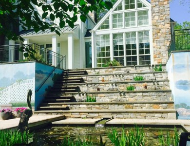 Backyard Landscape Design in McLean, VA