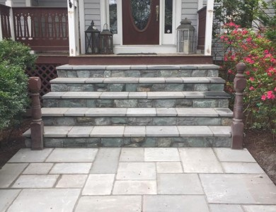 Flagstone Walkway Steps in Falls Church, VA