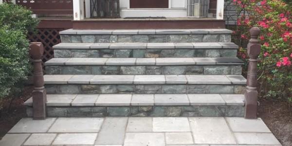Flagstone Walkway Steps in Falls Church, VA