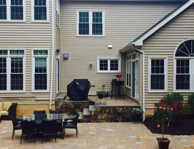 Best Landscape Designer in Arlington, VA Paver Patio and steps