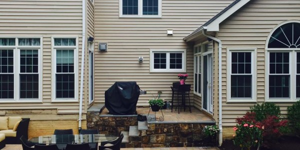 Best Landscape Designer in Arlington, VA Paver Patio and steps