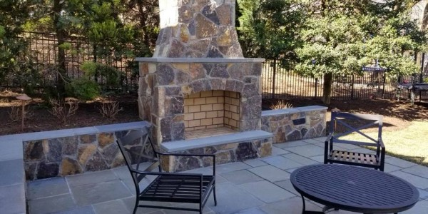 Backyard Patio Landscape Design in Northern VA