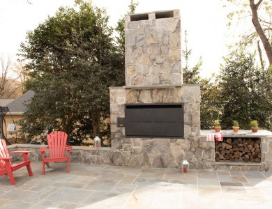 O'Grady's Landscape hardscape design and installation in Vienna, VA