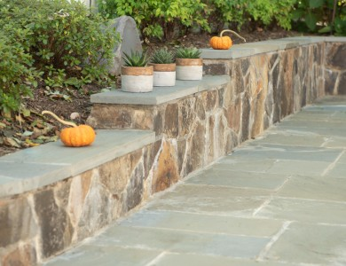 Near Me Landscaper in Arlington, VA Retaining Walls Stone and Flagstone Patio