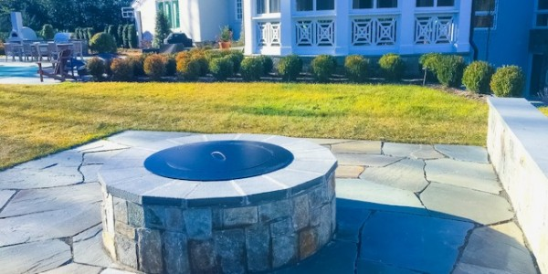 Fire Pit in McLean, Virginia