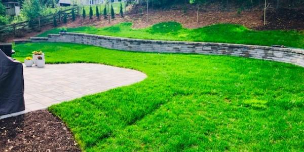 Hardscape Techo-Bloc Retaining Wall in McLean VA