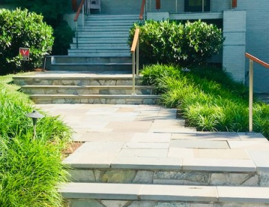 Flagstone Steps with Landings 22207
