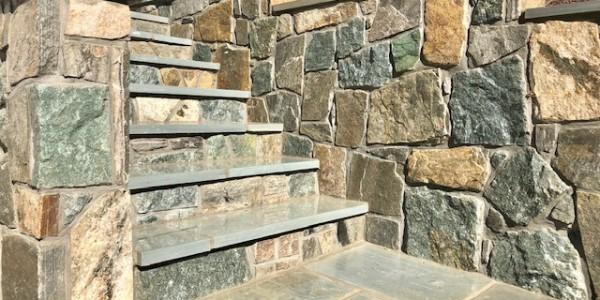 Stone Wall, Steps and Landings Arlington VA 22207